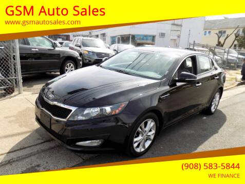2013 Kia Optima for sale at GSM Auto Sales in Linden NJ