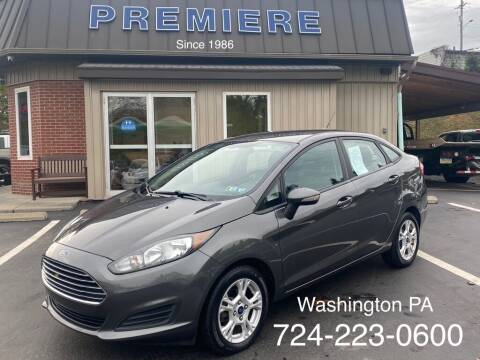 2015 Ford Fiesta for sale at Premiere Auto Sales in Washington PA