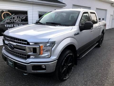 2018 Ford F-150 for sale at HILLTOP MOTORS INC in Caribou ME