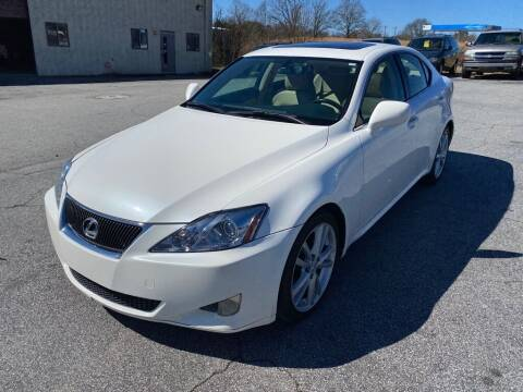 2006 Lexus IS 250 for sale at Brewster Used Cars in Anderson SC