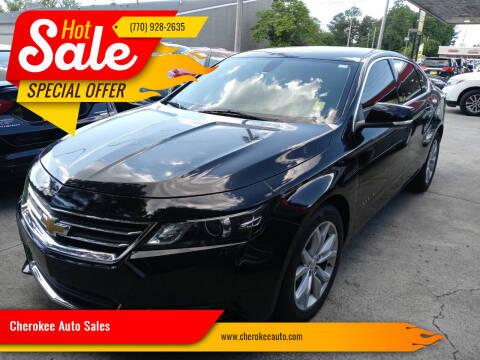 2018 Chevrolet Impala for sale at Cherokee Auto Sales in Acworth GA