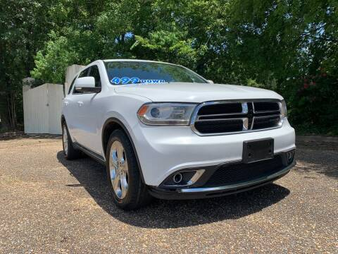 2014 Dodge Durango for sale at DRIVE ZONE AUTOS in Montgomery AL