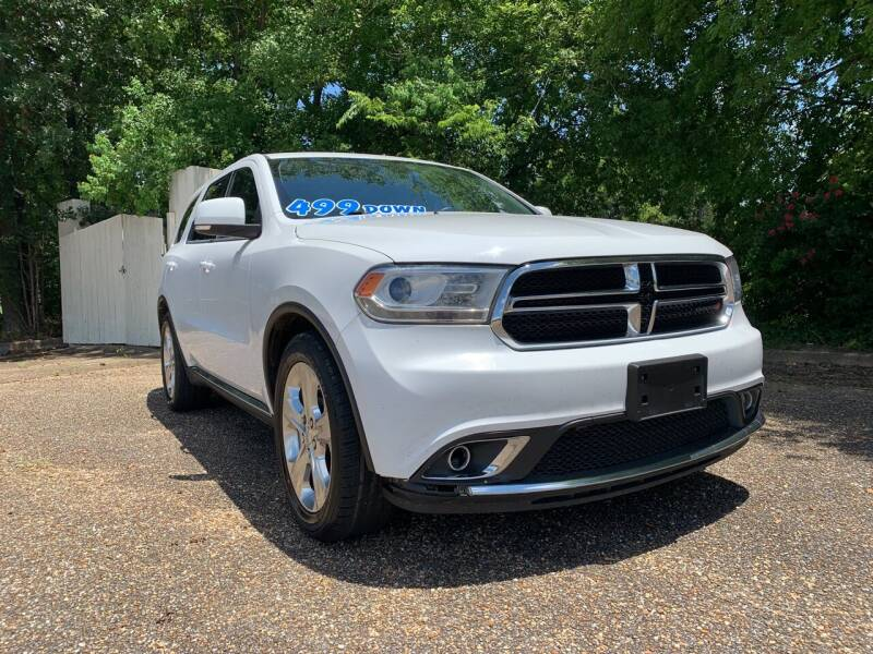 2014 Dodge Durango for sale at DRIVE ZONE AUTOS in Montgomery AL