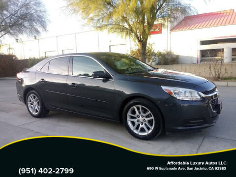 2014 Chevrolet Malibu for sale at Affordable Luxury Autos LLC in San Jacinto CA