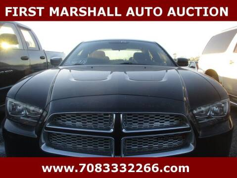 2013 Dodge Charger for sale at First Marshall Auto Auction in Harvey IL