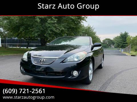 2006 Toyota Camry Solara for sale at Starz Auto Group in Delran NJ