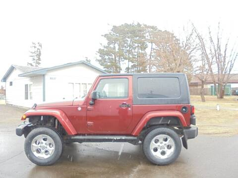 2007 Jeep Wrangler for sale at Engels Autos Inc in Ramsey MN