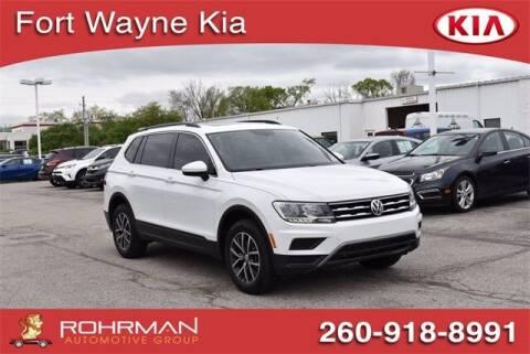 2019 Volkswagen Tiguan for sale at BOB ROHRMAN FORT WAYNE TOYOTA in Fort Wayne IN