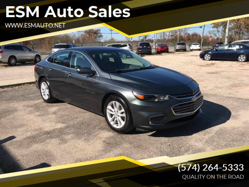 2016 Chevrolet Malibu for sale at ESM Auto Sales in Elkhart IN