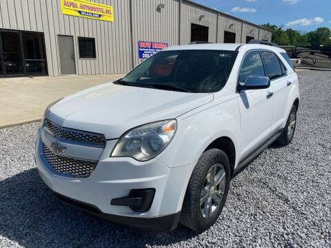 2012 Chevrolet Equinox for sale at Alpha Automotive in Odenville AL