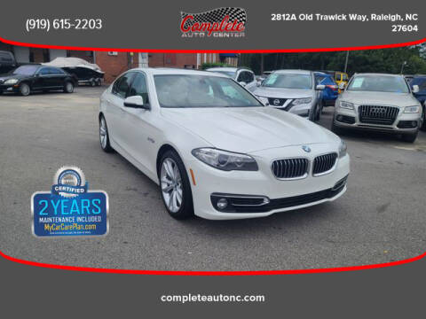 2014 BMW 5 Series for sale at Complete Auto Center , Inc in Raleigh NC