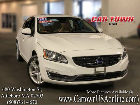 2014 Volvo S60 for sale at Car Town USA in Attleboro MA
