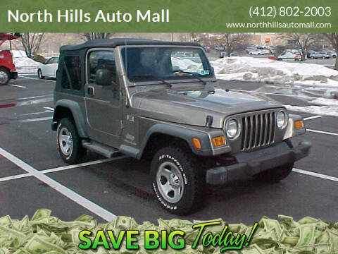 2004 Jeep Wrangler for sale at North Hills Auto Mall in Pittsburgh PA