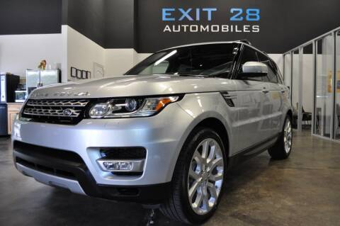 2015 Land Rover Range Rover Sport for sale at Exit 28 Auto Center LLC in Cornelius NC