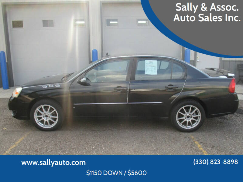 2007 Chevrolet Malibu for sale at Sally & Assoc. Auto Sales Inc. in Alliance OH