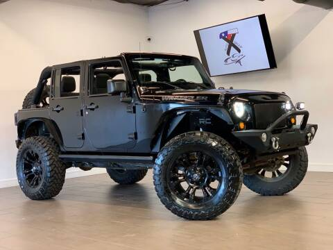 2016 Jeep Wrangler Unlimited for sale at TX Auto Group in Houston TX