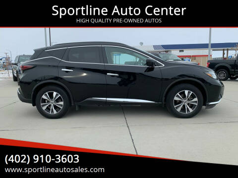 2019 Nissan Murano for sale at Sportline Auto Center in Columbus NE