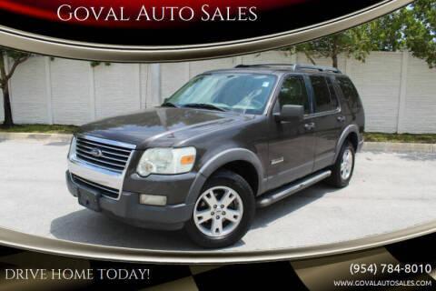 2006 Ford Explorer for sale at Goval Auto Sales in Pompano Beach FL