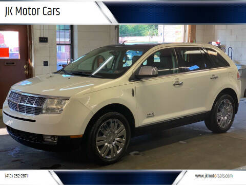 2008 Lincoln MKX for sale at JK Motor Cars in Pittsburgh PA