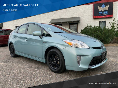 2015 Toyota Prius for sale at METRO AUTO SALES LLC in Blaine MN
