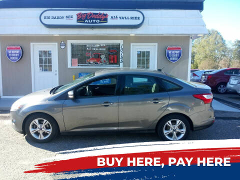 2014 Ford Focus for sale at BIG DADDY'S  A.L.D. in Winston Salem NC