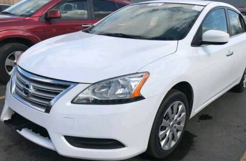 2015 Nissan Sentra for sale at Cj king of car loans/JJ's Best Auto Sales in Troy MI