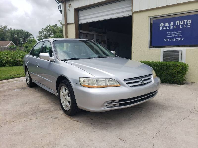 2001 Honda Accord for sale at O & J Auto Sales in Royal Palm Beach FL