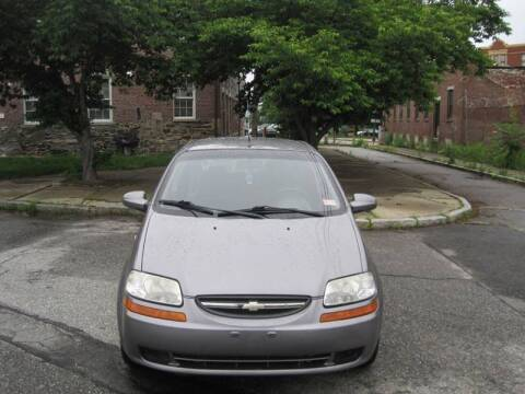 2008 Chevrolet Aveo for sale at EBN Auto Sales in Lowell MA