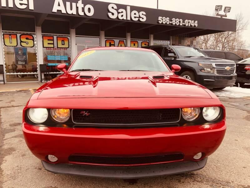 2012 Dodge Challenger for sale at Daniel Auto Sales inc in Clinton Township MI