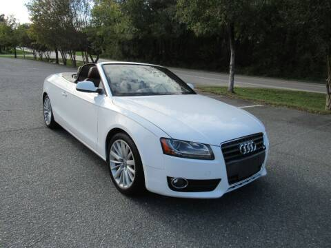 2010 Audi A5 for sale at Pristine Auto Sales in Monroe NC