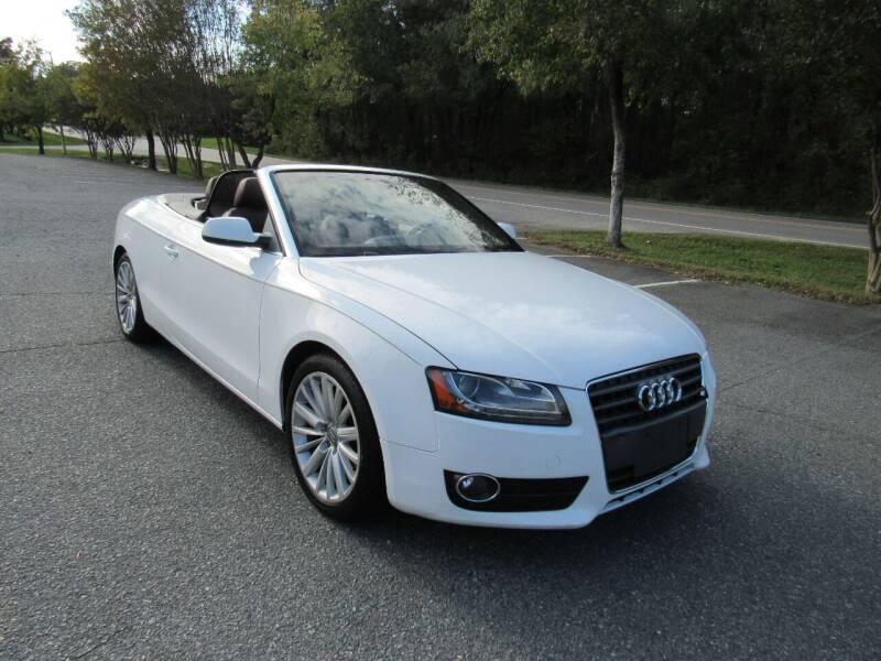 2010 Audi A5 for sale at Pristine Auto Sales in Monroe NC