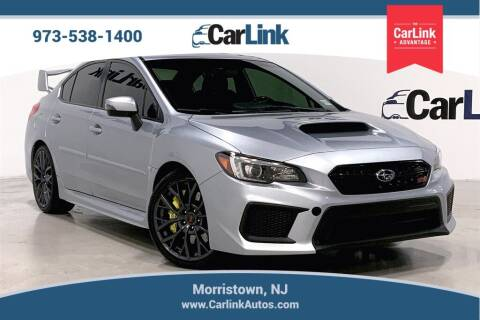 2018 Subaru WRX for sale at CarLink in Morristown NJ