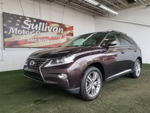 2015 Lexus RX 350 for sale at SULLIVAN MOTOR COMPANY INC. in Mesa AZ