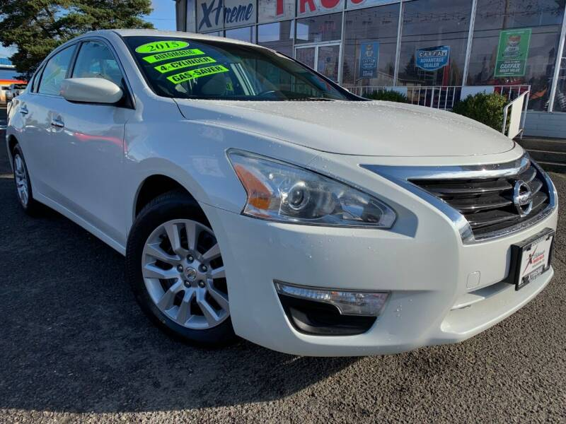 2015 Nissan Altima for sale at Xtreme Truck Sales in Woodburn OR