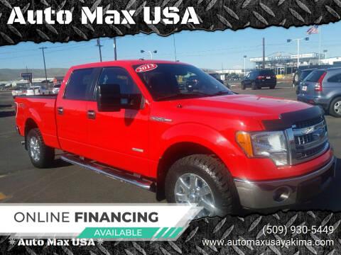 2013 Ford F-150 for sale at Auto Max USA in Yakima WA