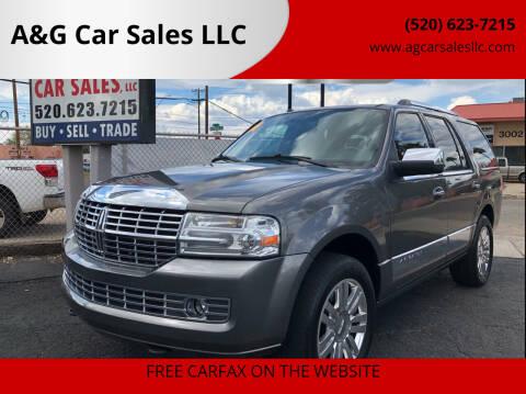 2014 Lincoln Navigator for sale at A&G Car Sales  LLC in Tucson AZ
