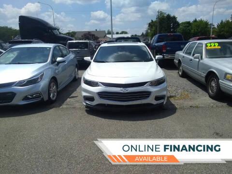 2016 Chevrolet Malibu for sale at Marino's Auto Sales in Laurel DE