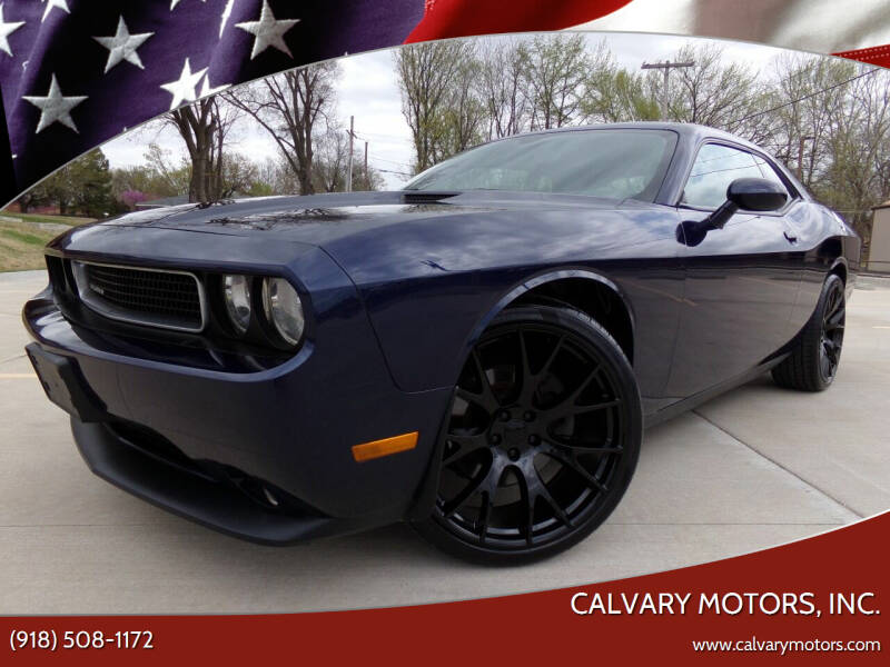 2013 Dodge Challenger for sale at Calvary Motors, Inc. in Bixby OK