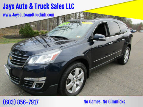 2015 Chevrolet Traverse for sale at Jays Auto & Truck Sales LLC in Loudon NH