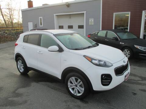 2018 Kia Sportage for sale at Percy Bailey Auto Sales Inc in Gardiner ME