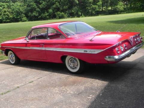 1961 Chevrolet Impala for sale at Classic Car Deals in Cadillac MI