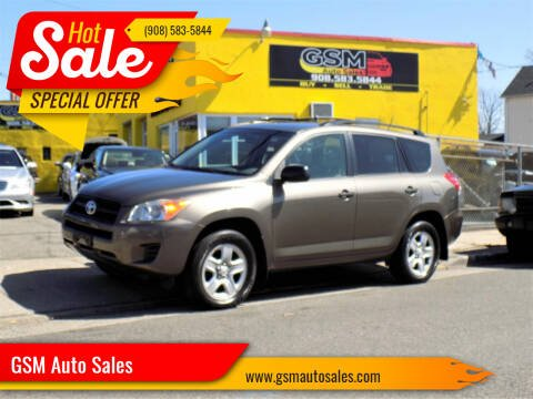 2009 Toyota RAV4 for sale at GSM Auto Sales in Linden NJ