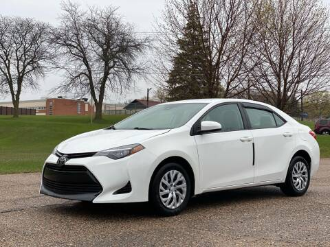 2017 Toyota Corolla for sale at Tonka Auto & Truck in Mound MN