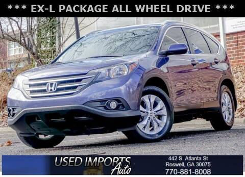 2014 Honda CR-V for sale at Used Imports Auto in Roswell GA