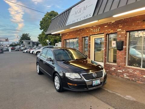 2006 Volkswagen Passat for sale at M&M Auto Sales in Portland OR