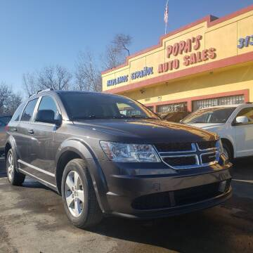 2016 Dodge Journey for sale at Popas Auto Sales in Detroit MI