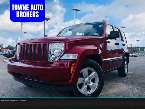 2010 Jeep Liberty for sale at TOWNE AUTO BROKERS in Virginia Beach VA