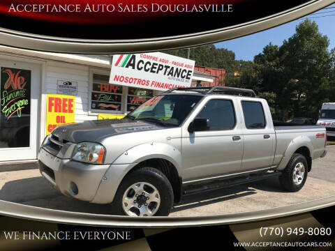2004 Nissan Frontier for sale at Acceptance Auto Sales Douglasville in Douglasville GA
