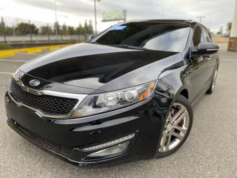 2013 Kia Optima for sale at Bay Auto Exchange in San Jose CA