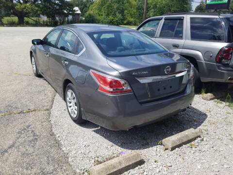 2015 Nissan Altima for sale at David Shiveley in Mount Orab OH